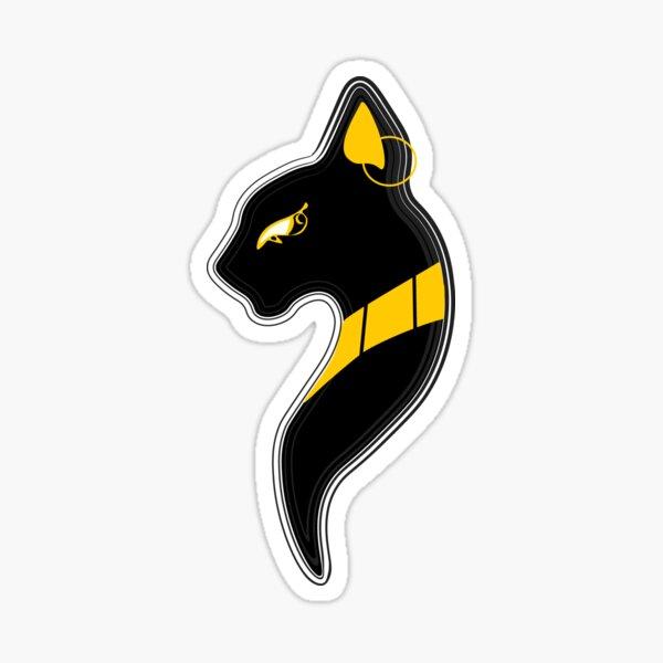 Bastet Egyptian Cat Goddess Sticker