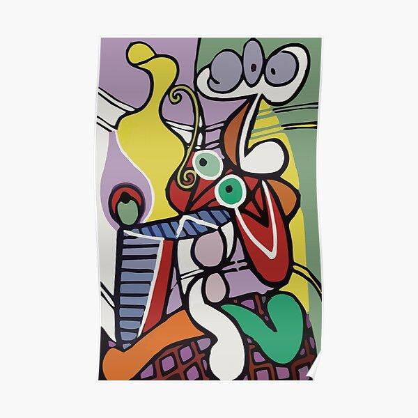 Abstract Art VectorArt Poster