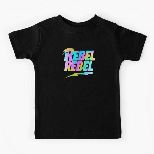 Bowie Rebel Rebel Kids T-Shirt