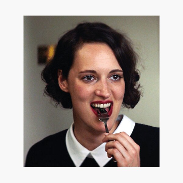 Fleabag and fork Photographic Print