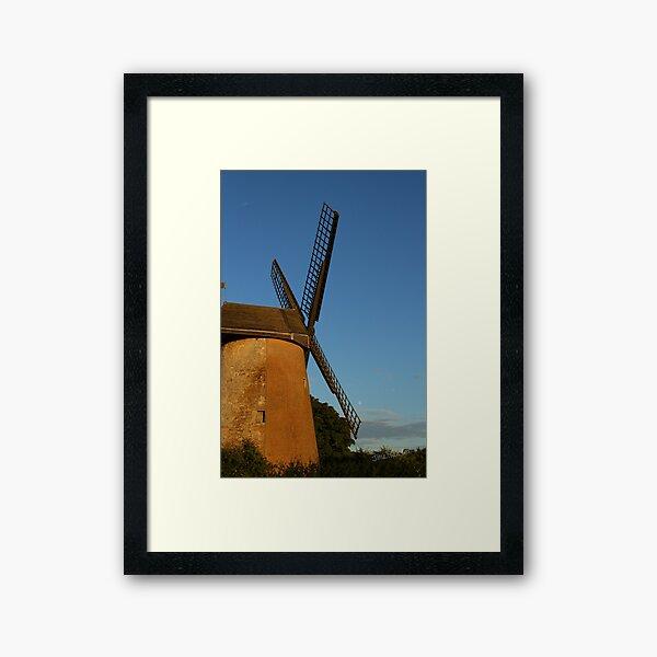 Bembridge Windmill Framed Art Print