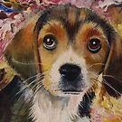 Picasso The Beagle by Jan Szymczuk