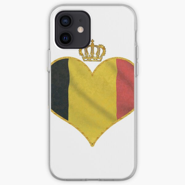Love Belgium iPhone Soft Case