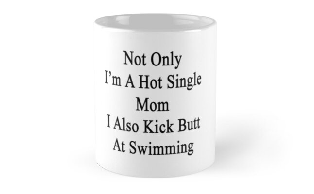 Not Only I'm A Hot Single Mom I Also Kick Butt At Swimming  by supernova23