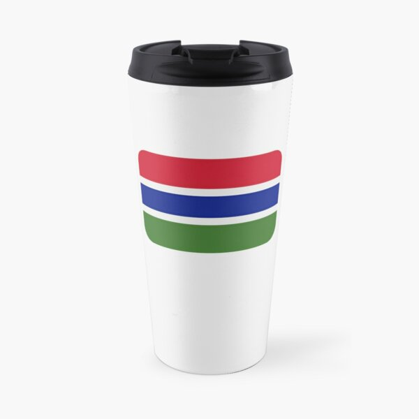 Gambia Flag Gambia Independence Day Gift for Proud Gambian Travel Mug