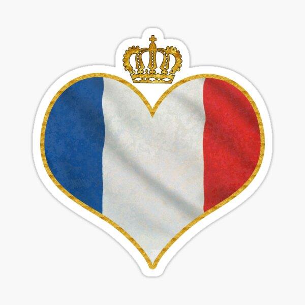 Love France Sticker
