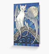 The Watcher at the Gate Greeting Card