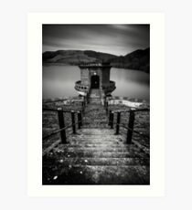 Ladybower Art Print