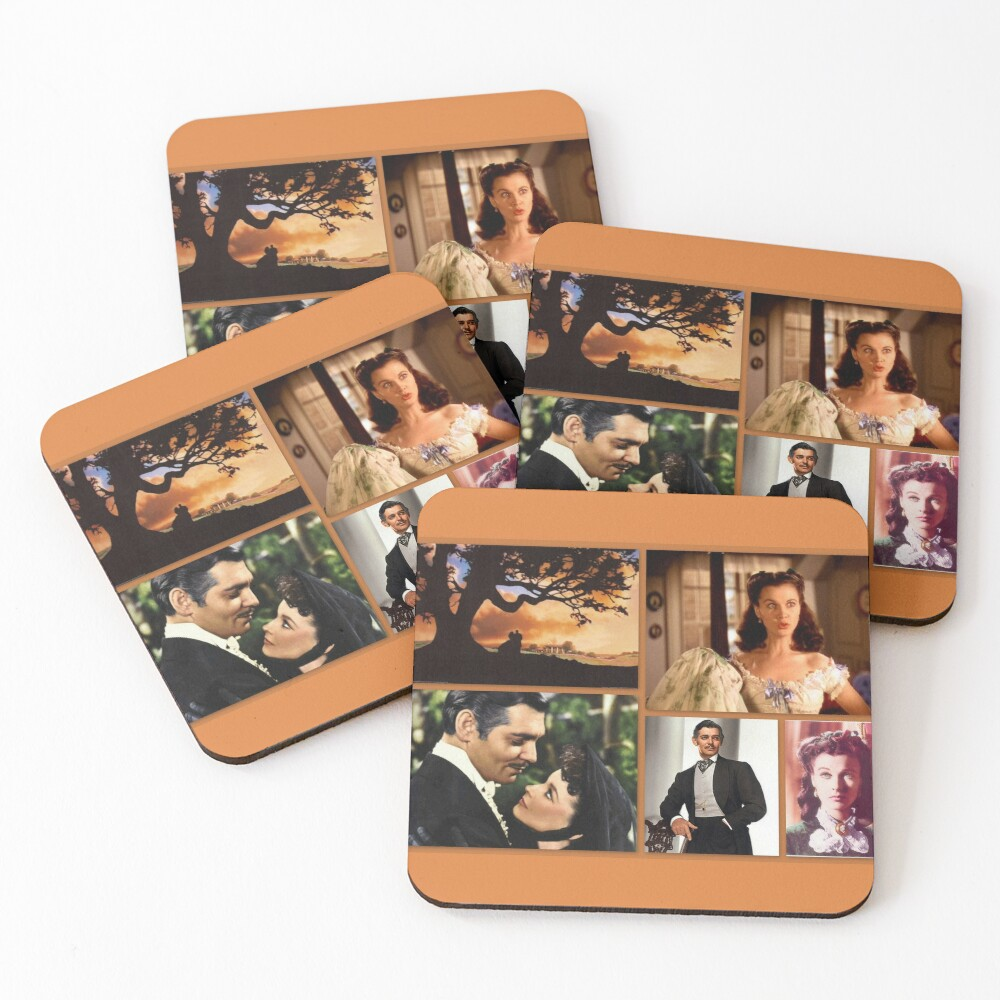 Gone with the wind Coasters (Set of 4)