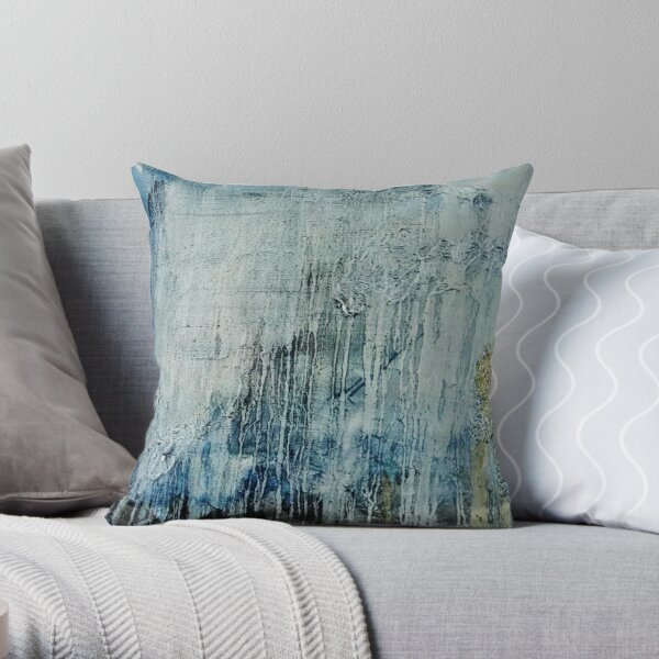 Climate Change Painting Throw Pillow
