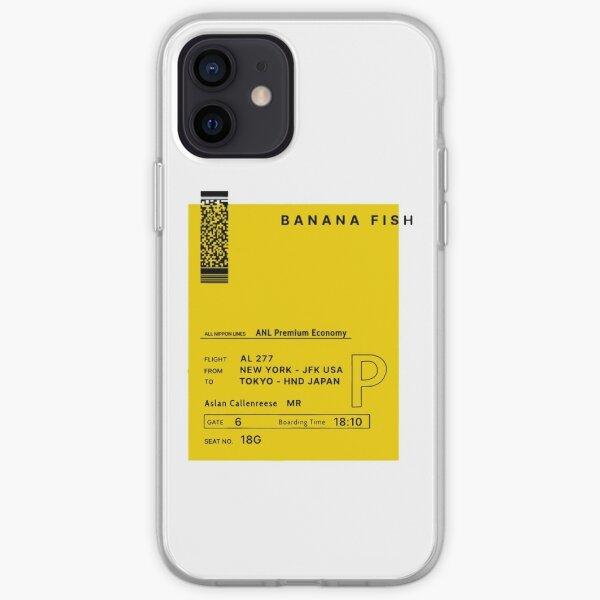 Billet Banana fish - envoyé par Eiji Okumura à Ash Lynx Coque souple iPhone