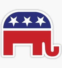 Republican Original Elephant Sticker