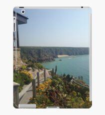 Hillside ocean view iPad Case/Skin