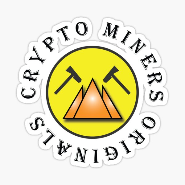 Crypto Miners Originals Sticker