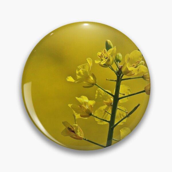 Yellow Flowers Pin