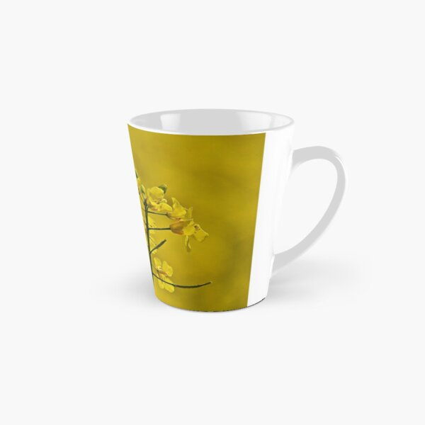 Yellow Flowers Tall Mug