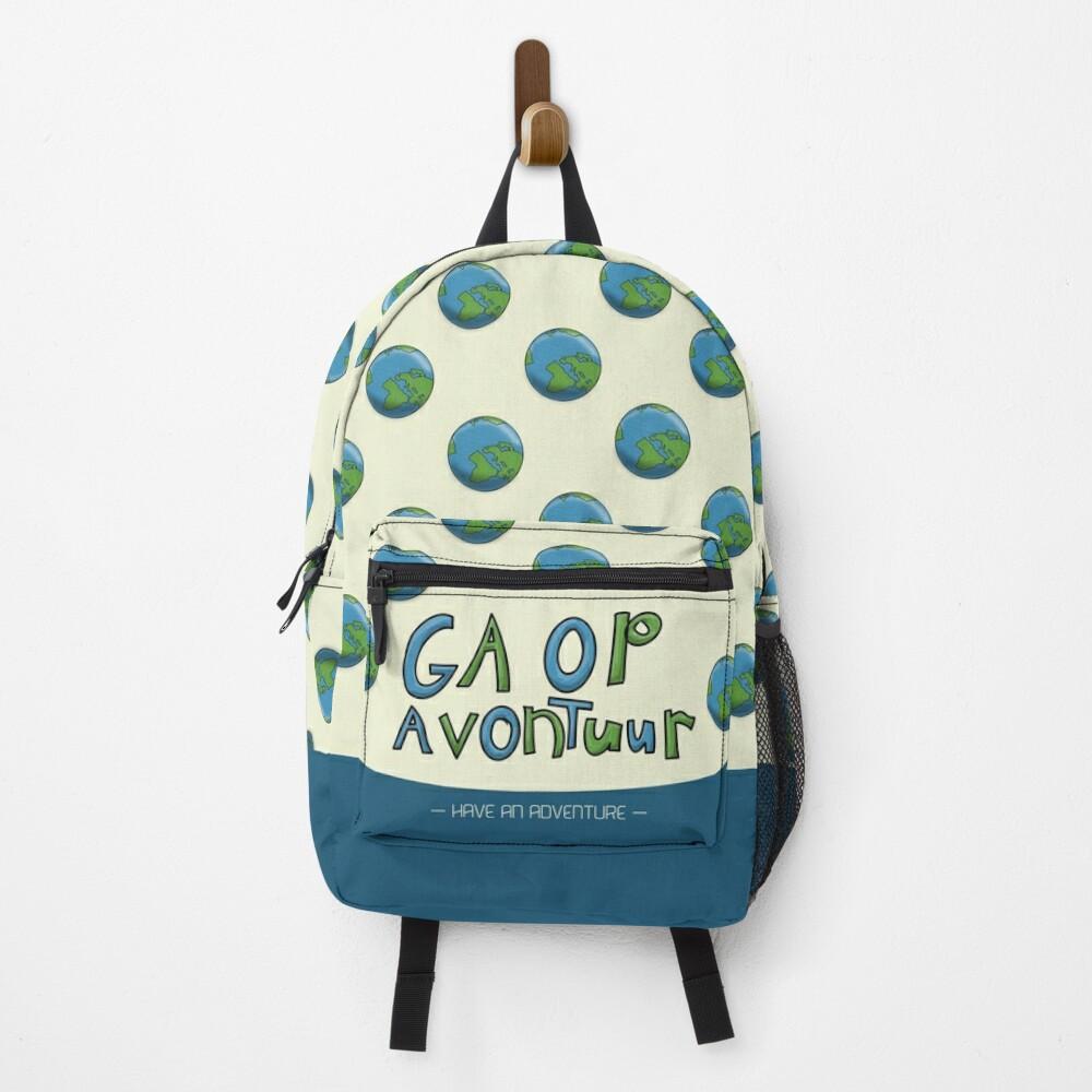 Ga Op Avontuur (Have an Adventure) Backpack