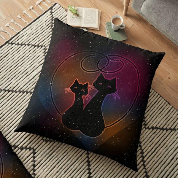 Purrlicious Floor Pillow