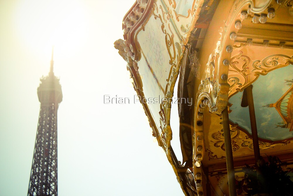 Eiffel carousel by Brian Posslenzny