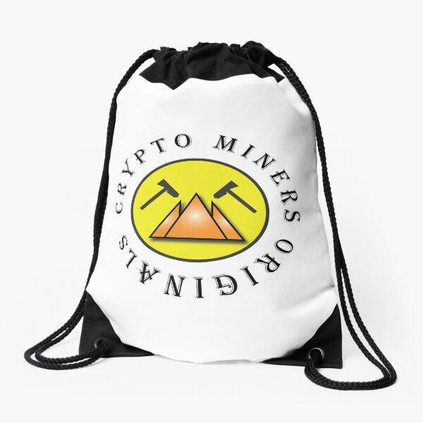 Crypto Miners Originals Drawstring Bag