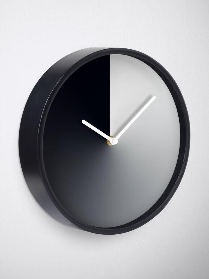 Alternate view of Dusk Till Dawn Dark Gradient Sphere Clock