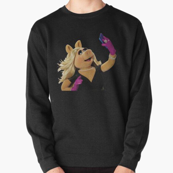 Kermit-Miss Piggy Pullover Sweatshirt