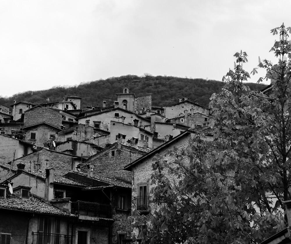 Streets of Scanno - Italy  by Andrea Mazzocchetti