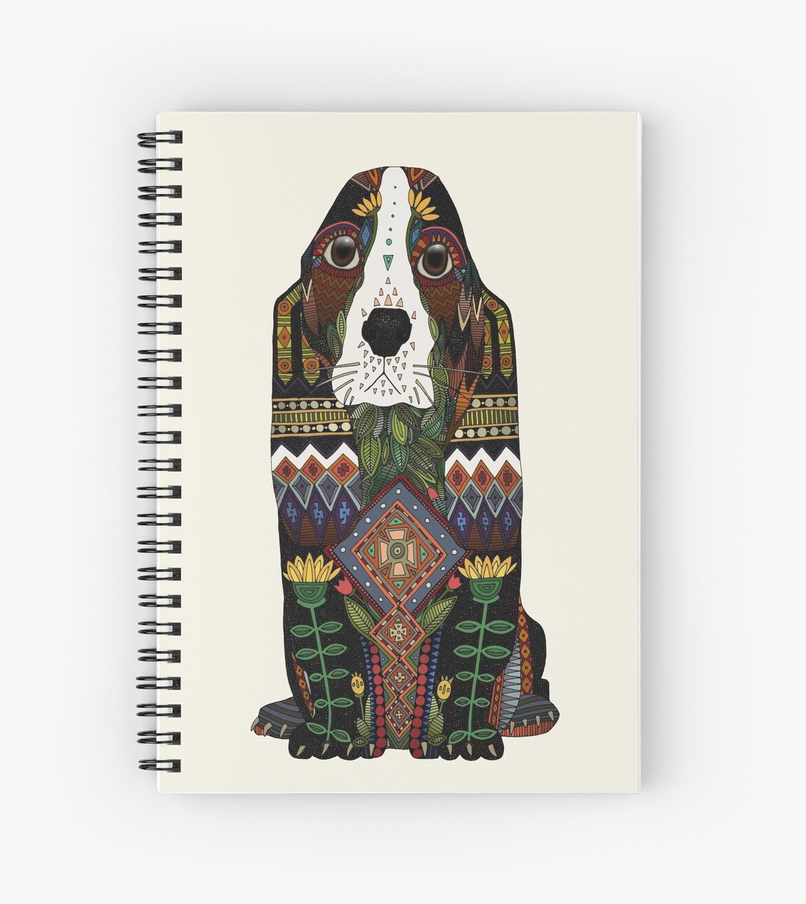 Basset Hound by Sharon Turner