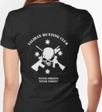 Taliban Hunting Club 2014 Women's Fitted V-Neck T-Shirt