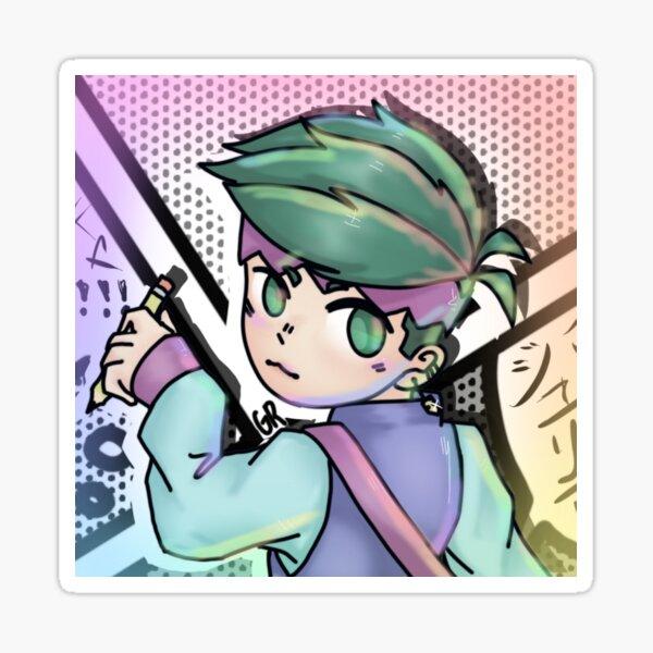 Multicolor Rohan Sticker