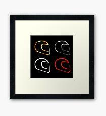 motorsports Framed Print