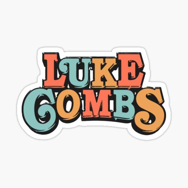 Luke combs  Sticker