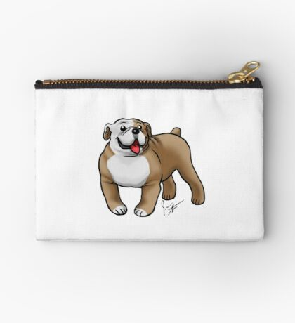 English Bulldog Studio Pouch