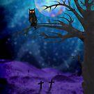 Wicked Owl by BluAlien
