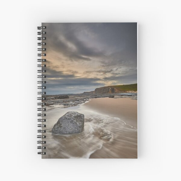 Interference Wave Spiral Notebook