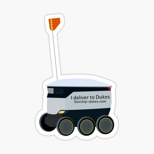 JMU delivery bots  Sticker