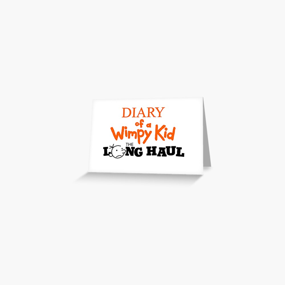Diary Of A Wimpy Kid Rodrick Rules Greeting Card By Kingsleyburnett Redbubble