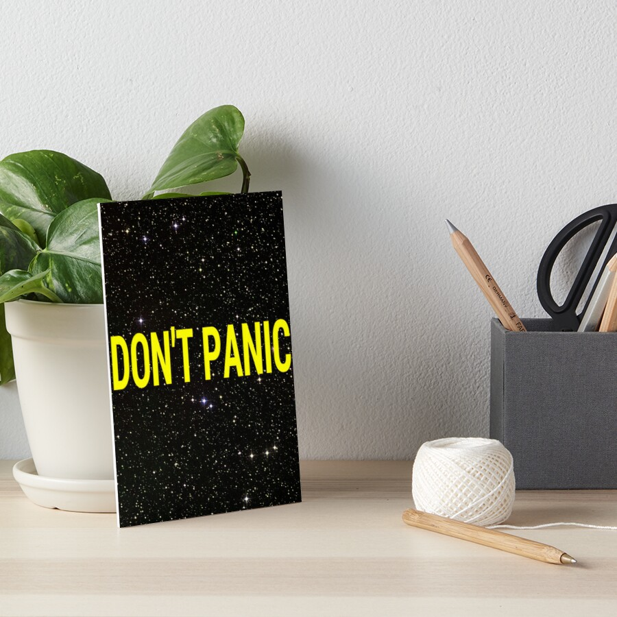 Don't Panic by fairy911911