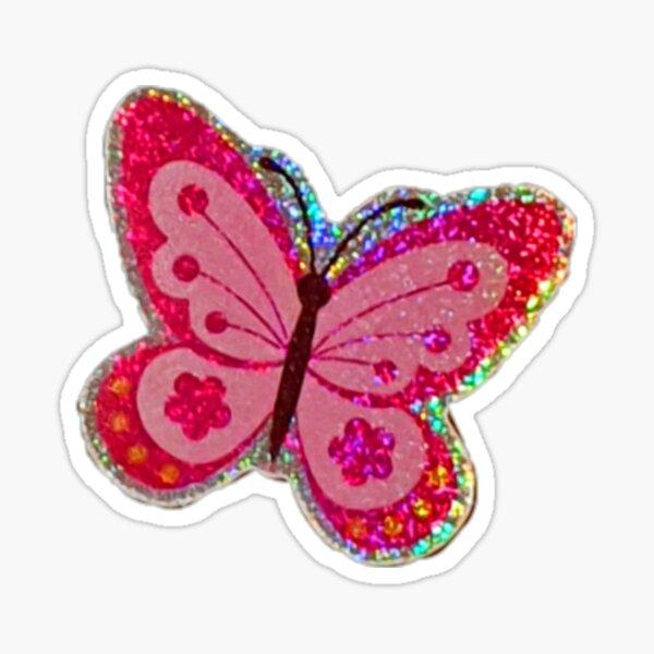 sparkle butterfly Sticker