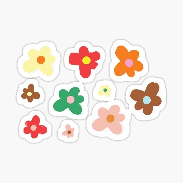 flores de golf le fleur Pegatina