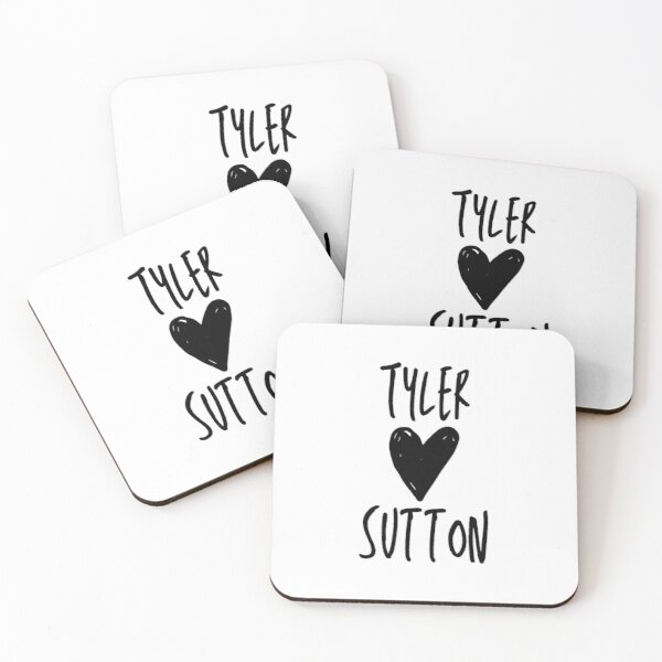 Tyler Loves Sutton  Coasters (Set of 4)