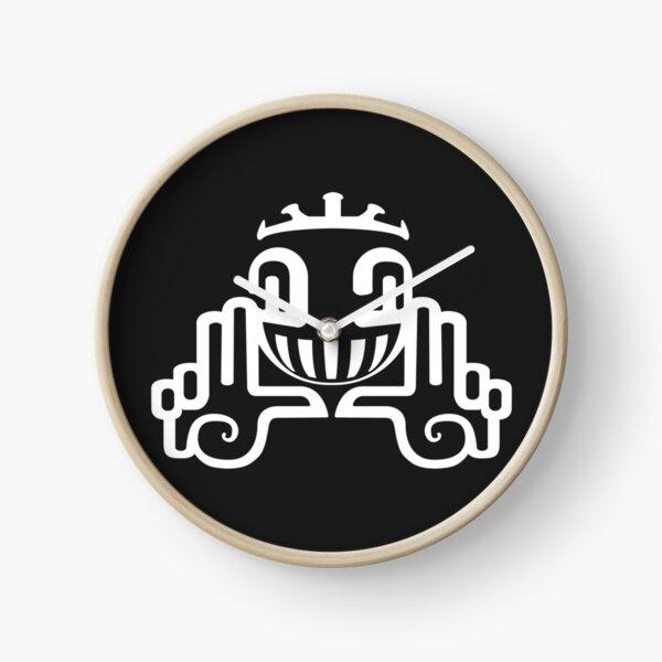 Spiral Tribe Logo Clock