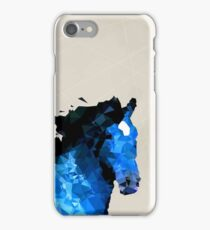 Abstract horse of geometric shape, symbol 2014 iPhone Case/Skin