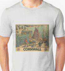 Vintage poster - Cornwall T-Shirt