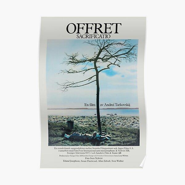 The Sacrifice (Offret) - Vintage Swedish Film Poster Poster