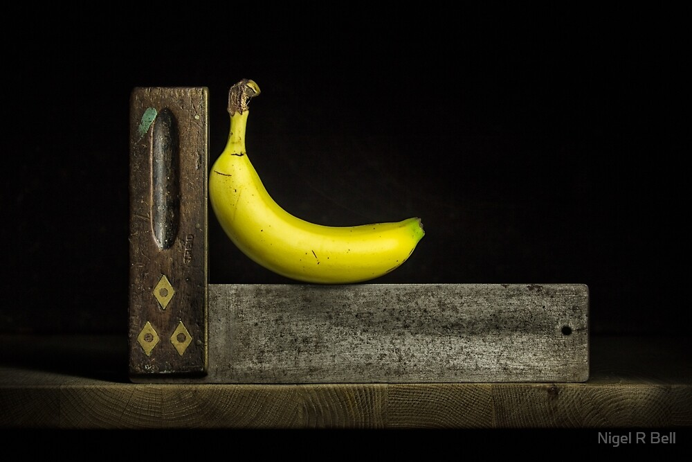 Bananas ain't square by Nigel R Bell