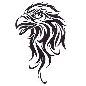 tribal eagle by Gustus