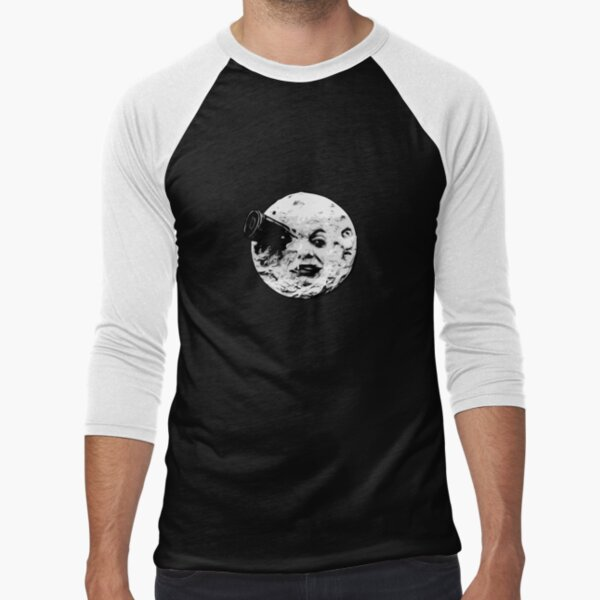 Man in the moon Baseball ¾ Sleeve T-Shirt