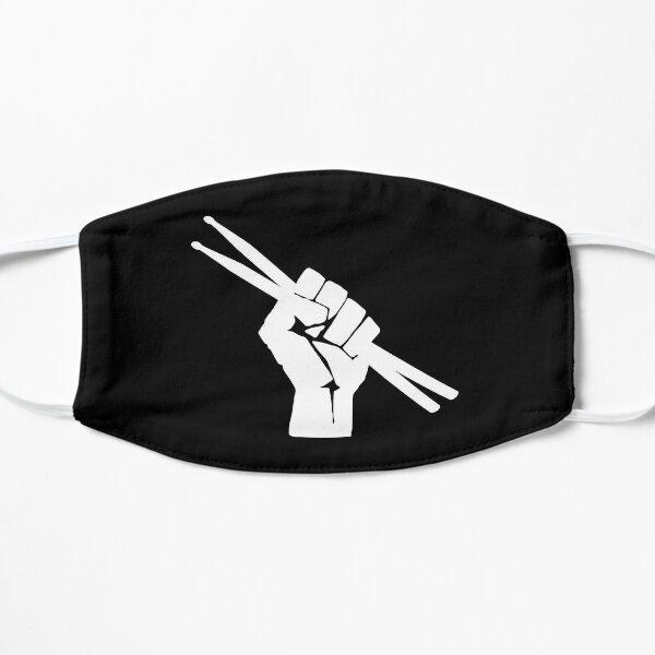 Drummer Fist With Drumsticks  Flat Mask
