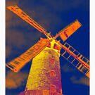 Psychedelic windmill by daveashwin